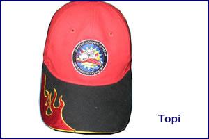 topi-merah
