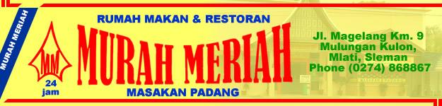 Rumah Makan Padang Murah Meriah di Jogja