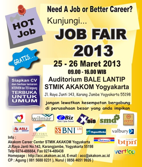 Job Fair Akakom 2013