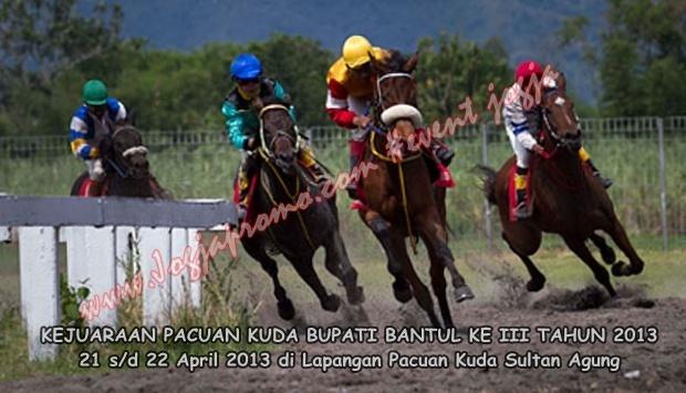 Pacuan kuda Kuda Kab bantul 2013