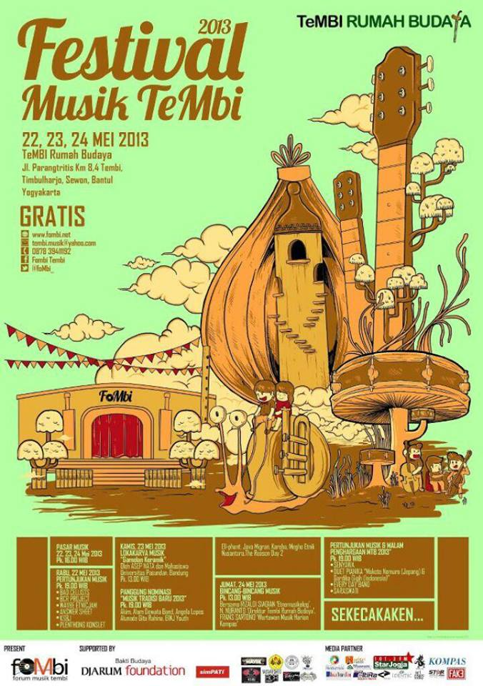 festival musik tembi 2013