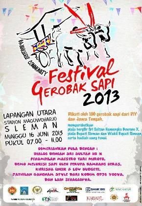 festival gerobak sapi