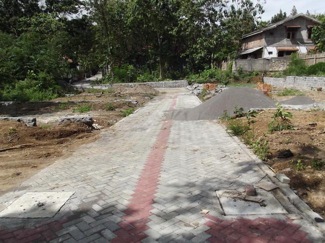 kavling siap bangun di depan Balai latihan kerja Propinsi DIY_2