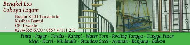 bengkel las jogja - stainless steel