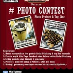 Photo Contest Product and Tag Line Kedaibelakang