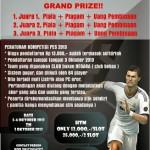 Kompetisi PES 2013 HUT ke-31 Kopma UNY