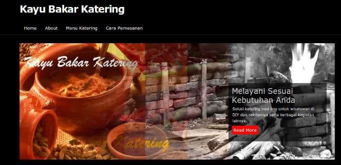 kayu bakar catering