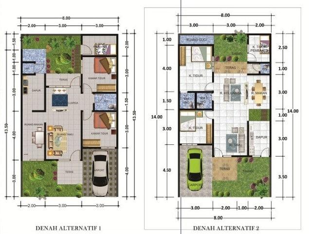 denah-kaliurang-residence-type-80