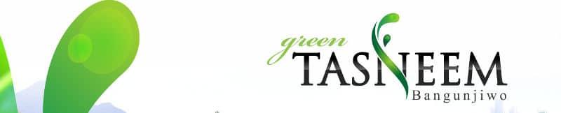 green tasneem bangunjiwo - header
