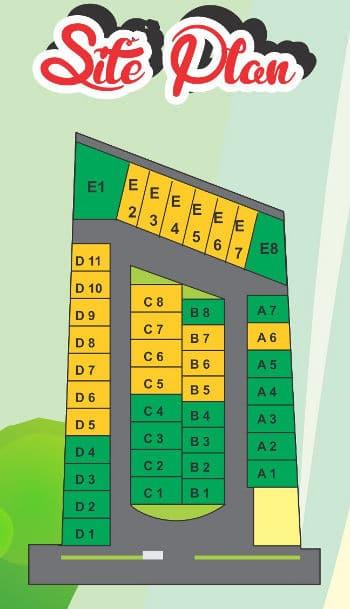 siteplan green tasneem bangunjiwo