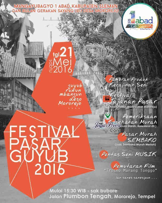 FESTIVAL PASAR GUYUB 2016-