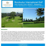 Update Website Borobudur Golf