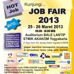 Job Fair STMIK AKAKOM 2013