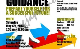 Career Guidance UGM_ jogjapromo