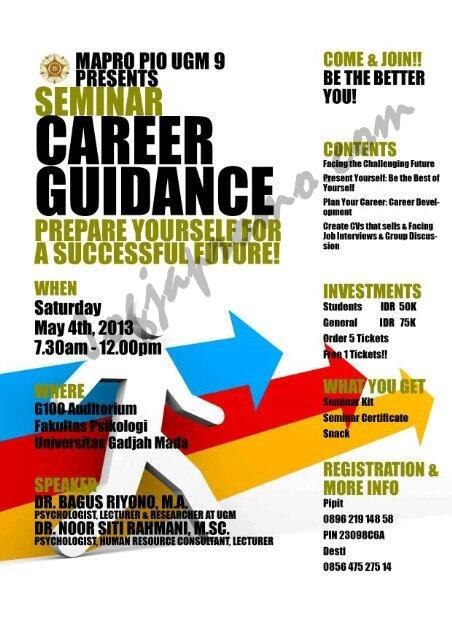 Career Guidance UGM_ jogjapromo