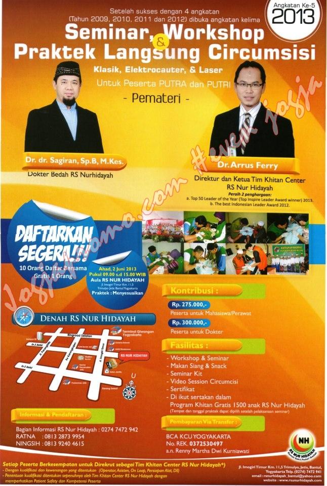 Seminar RSU Nur Hidayah