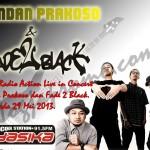 Yasika Radio Action Live in Concert  Bondan Prakoso dan Fade 2 Black.