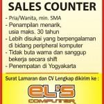 Lowongan Sales Conter EL's Computer
