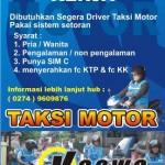 Lowongan Driver Taksi Motor Kaswa Jogja