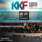 Kompas Karier Fair 2013 #Jogja