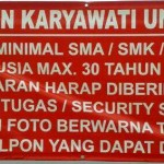 Lowongan Karyawati Untuk SPBU UMY/ SPBU Tamantirto