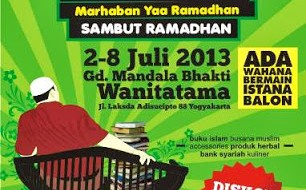 ogja Muslim Fair 2013 Sambut Ramadhan