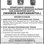 Lowongan Asisten dan staf Pemerintahan Yogyakarta