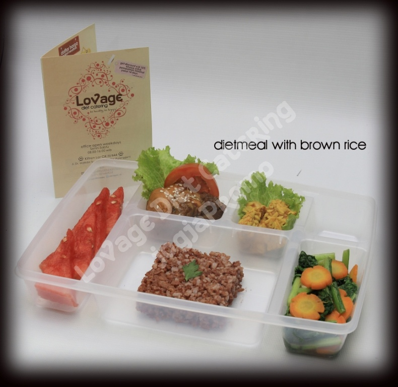 dietmeal with brown rice