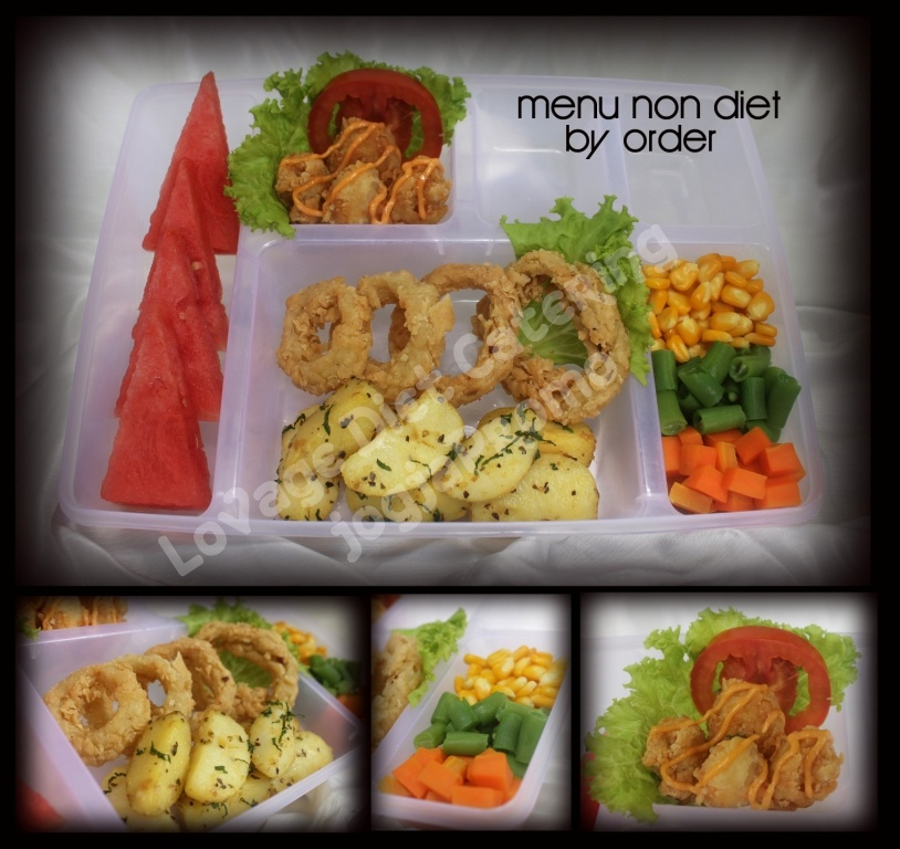 menu non diet by order