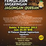 "Pengajian Angkringan ""Jagongan Qurban"" Masjid Jogokariyan Yogyakarta"