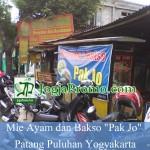 Mie Ayam dan Bakso Pak Jo Patang Puluhan Yogyakarta