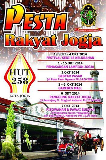 hut ke 258 pesta rakyat yogyakarta