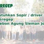 Dibutuhkan Sopir / driver untuk UD Sregep Jl. Kebon Agung Sleman Jogja
