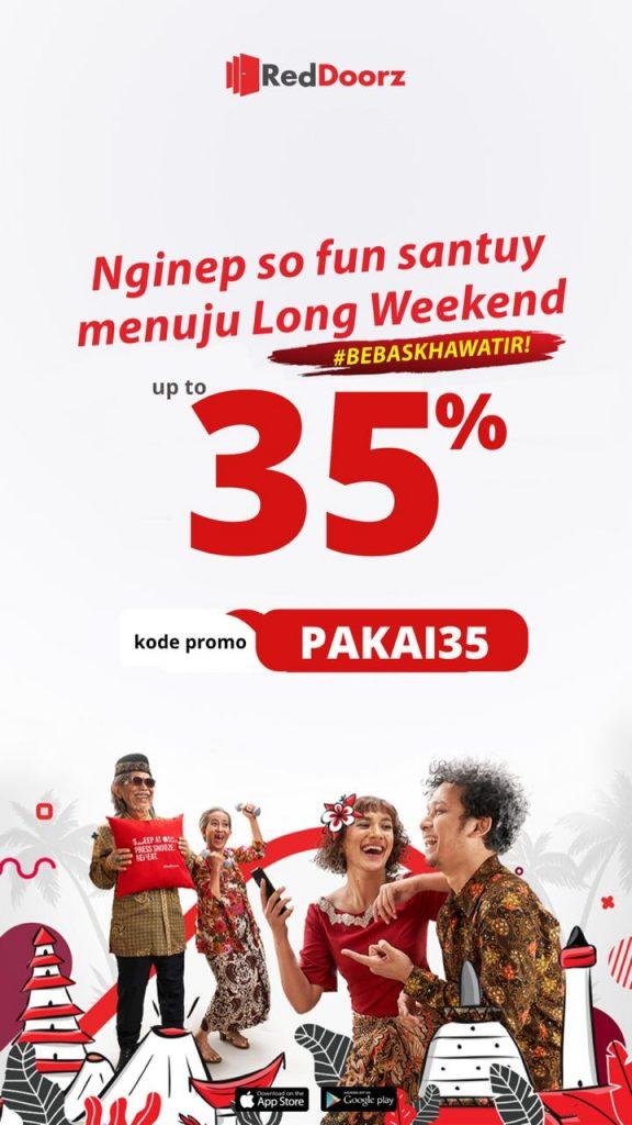 Promo Reddoorz Terbaru Hingga 40 Pakai35 Yogyakarta Jogja