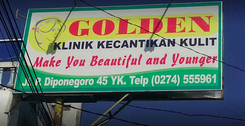 golden skin care jogja